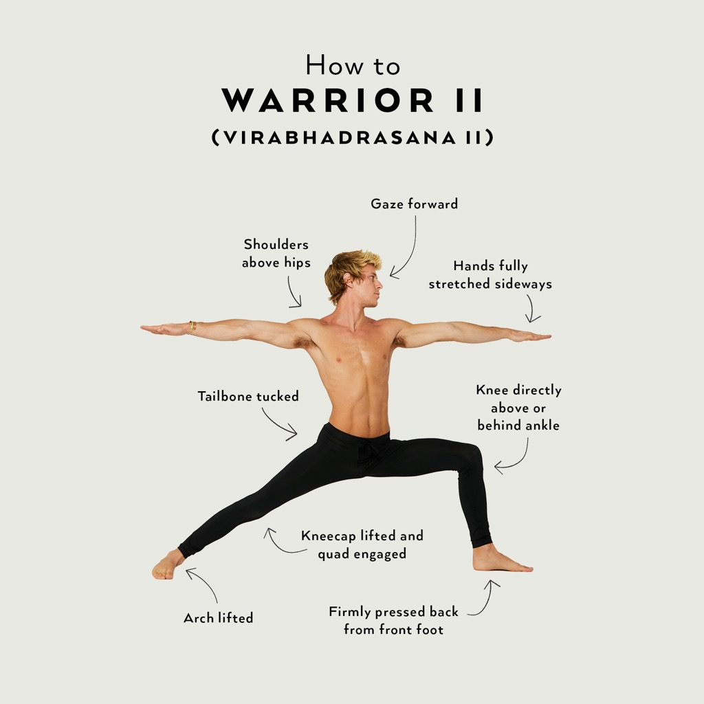 Perfect the Pose: Warrior II  Alo Yoga